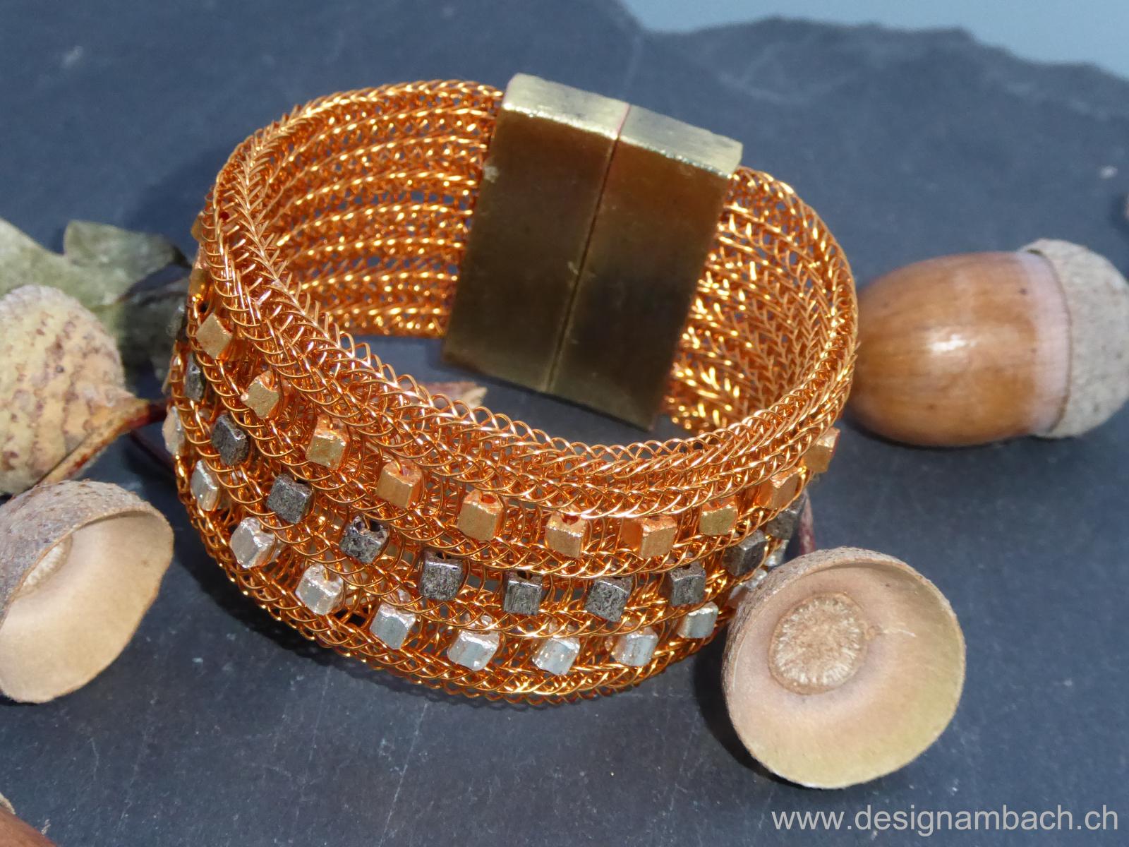 herbstliches Armband