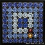 Kapsellogo Design am Bach blau